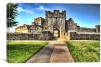 St Donats Castle, Canvas Print