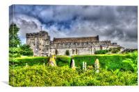 St Donats Castle 2, Canvas Print