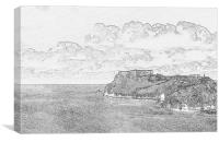 St Catherines Island Tenby 2, Canvas Print