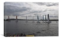 Extreme 40 At The Start, Canvas Print