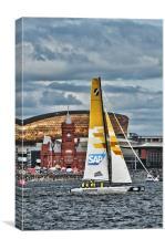 Extreme 40 Team SAP Extreme Sailing, Canvas Print