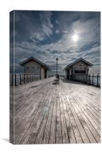 Penarth Pier 1, Canvas Print