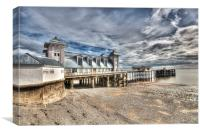 Penarth Pier 5, Canvas Print