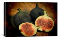 Three Figs, Canvas Print