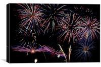 Fireworks Extravaganza 2, Canvas Print