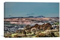 Brecon Beacons in Autumn, Canvas Print