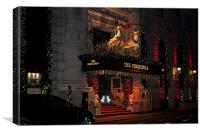 The Peninsula New York At Christmas, Canvas Print