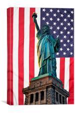 Liberty Patriot, Canvas Print