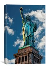 Statue Of Liberty, Canvas Print