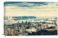 New York Skyline 3, Canvas Print
