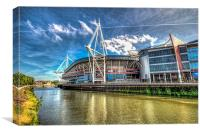 Wales Millennium Stadium 3, Canvas Print