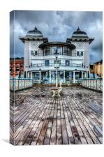 Penarth Pier Pavilion 1, Canvas Print
