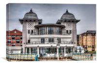 The Pavilion Penarth Pier, Canvas Print