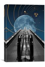 Stairway To The Heavens 2, Canvas Print