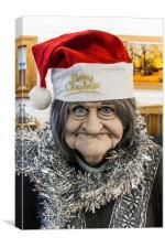 Christmas Grandma, Canvas Print