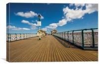 Penarth Pier 6, Canvas Print