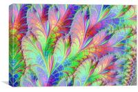 Tropical Palms, Canvas Print