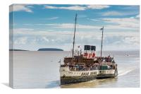 The Waverley 2, Canvas Print