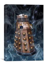 Dalek, Canvas Print