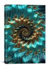 Aqua Supreme, Canvas Print
