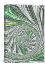 Green And Grey, Canvas Print