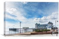 Penarth Pier Morning Light 1, Canvas Print