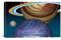 The Saturn Phenomenon, Canvas Print