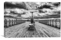 Penarth Pier And MV Balmoral , Canvas Print