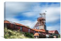 Thirty Seconds at Big Pit, Canvas Print