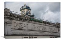 Cardiff Central Station, Canvas Print