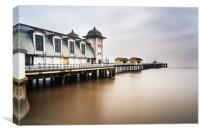 Three Minutes At Penarth Pier, Canvas Print