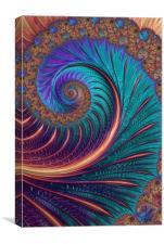 Blue Wave, Canvas Print