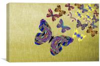 Flight Of The Butterflies, Canvas Print