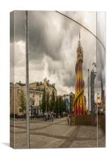 Fairground Reflection, Canvas Print