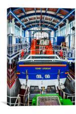 Tenby Lifeboat 1, Canvas Print