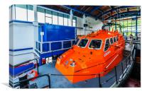 Tenby Lifeboat 2, Canvas Print
