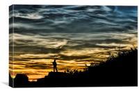 Thoughtful Sunset, Canvas Print