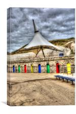 Gandalfs Hat at Barry Island, Canvas Print