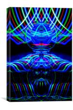 The Light Painter 61, Canvas Print