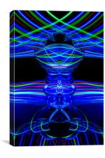 The Light Painter 62, Canvas Print