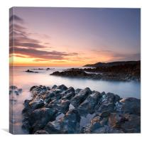 Morte Point Sunset, Canvas Print