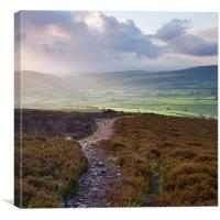 Dunkery Hill Sunrise, Canvas Print