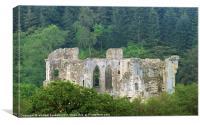 Old wardour castle, Canvas Print