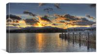 Ambleside Pier at Sunset