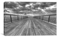 St Anne's Pier, Canvas Print