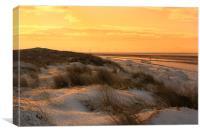 Frozen Sunset, Canvas Print