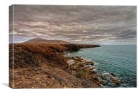 Rugged Coastline, Canvas Print