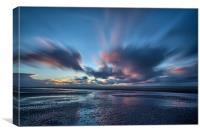Ainsdale Beach Sunset, Canvas Print