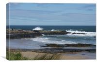 Northumberland Coast, Canvas Print