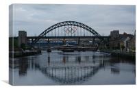 Tyne Bridge, Canvas Print